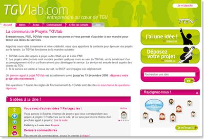 TGVlab-projets